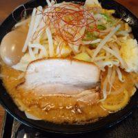 麺賊 喜三郎 味玉豚基本 麺大盛り【上田市】