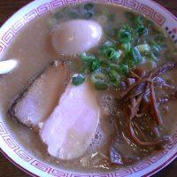 【上田市】豚骨商店 ゆい六助 上田店 とんこつラーメン 味玉