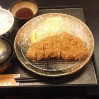 【飯田市】手打ちとんかつ 志瑞  ロースカツ御膳セット