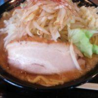 【上田市】麺賊 喜三郎 豚基本 麺大盛り