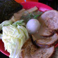 【佐久市】麺's BLAND 文蔵BLACK(豚骨醤油ラーメン 全部入り)