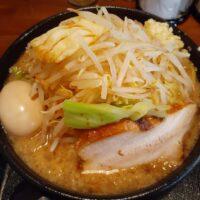 【上田市】麺賊 喜三郎(豚基本 麺大盛り・野菜増)