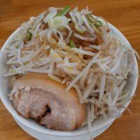 【佐久市】麺屋 花の名(中ラーメン 極太麺)