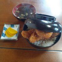 【佐久市】鳥忠食堂(ささみかつ丼)