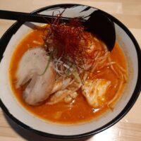 【松本市】辛菜麺 烈火(辛菜麺 味噌 並辛)