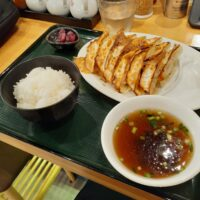 【塩尻市】塩尻餃子食堂(餃子定食12ケ 魚介醤油ラーメン)