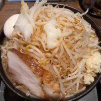 【上田市】麺賊 喜三郎 塩田店(味玉豚基本 麺大盛・野菜増)